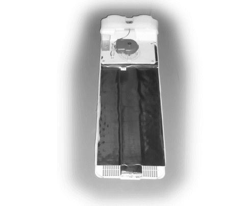 Hűtő ventilátoros hátfal egység W8-DA9702088U -
