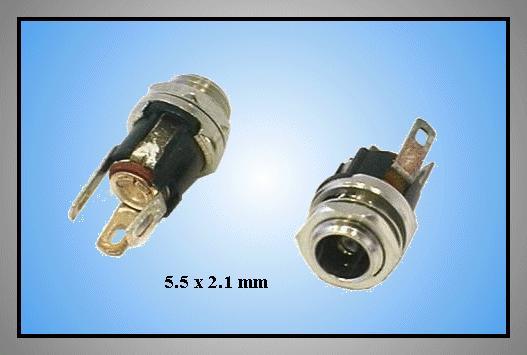 DC aljzat 2.1x5.5mm (csavaros) CSAT-P008/2.1