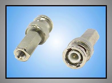 BNC dugó csavaros kábel=6.5mm BNC-001
