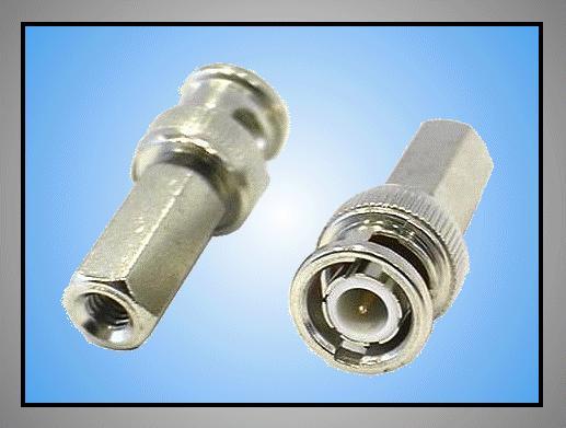 BNC dugó csavaros kábel=4,2mm BNC-011
