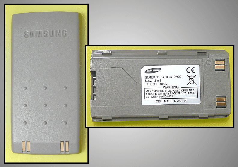 SAMSUNG SGH600 akkumulátor light ACCU GSM-S600/4