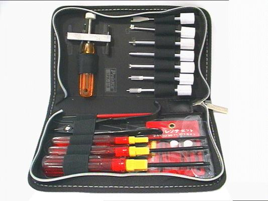 COMPLETE REPAIR SET VCR´s VCR TOOLKIT