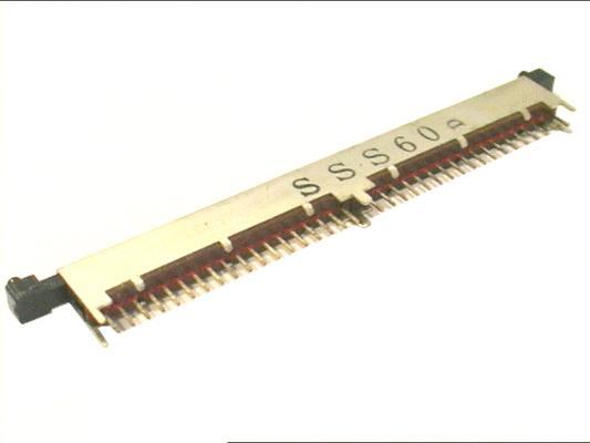 LINE kapcsoló 1x36p.  L=94mm SWA0036/A