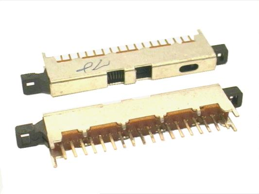 LINE kapcsoló 1x18p. L=48.5mm SWA0018/B