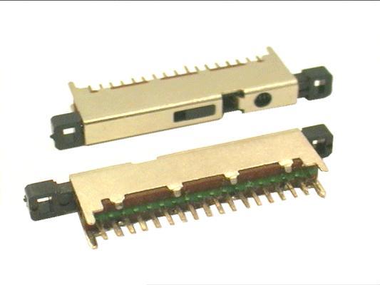 LINE kapcsoló 1x18p.  L=38mm SWA0018/A