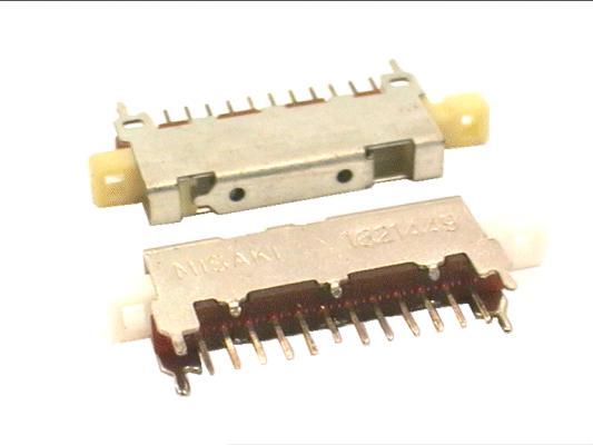 LINE kapcsoló 1x12p.  L=34mm SWA0012/A