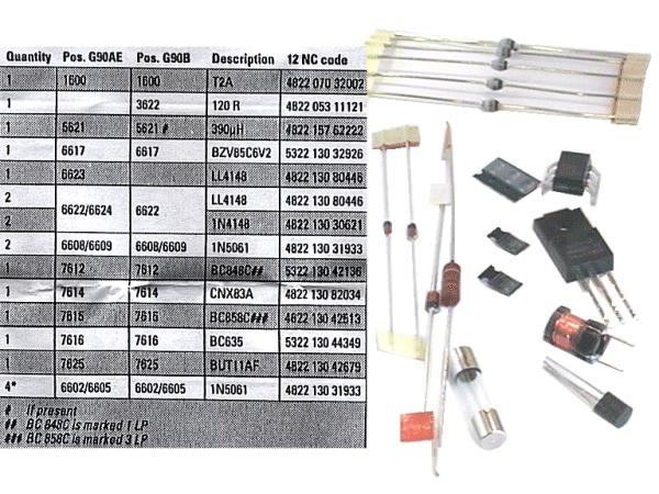 TV SERVICE POWER KIT ES7023 310.20496
