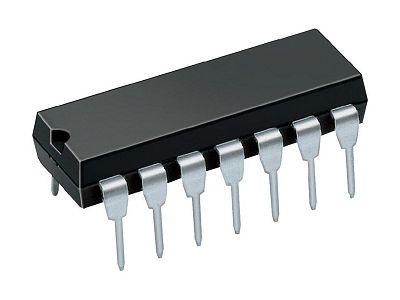 DUAL 4-INPUT NAND GATE 14p. DIP 4012 CD4012BE -