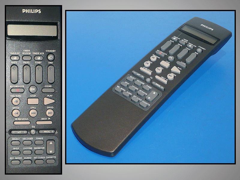 Távirányító VCR LCD RT255/414 218.30812