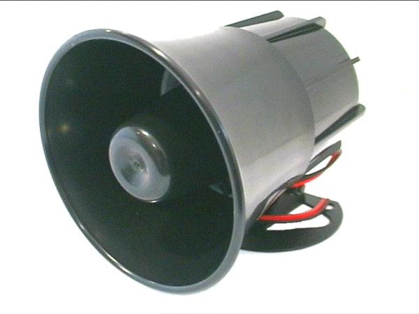 Sziréna, átmérő: 105mm ,6 hangszínes (12V 1300mA) BZ-016