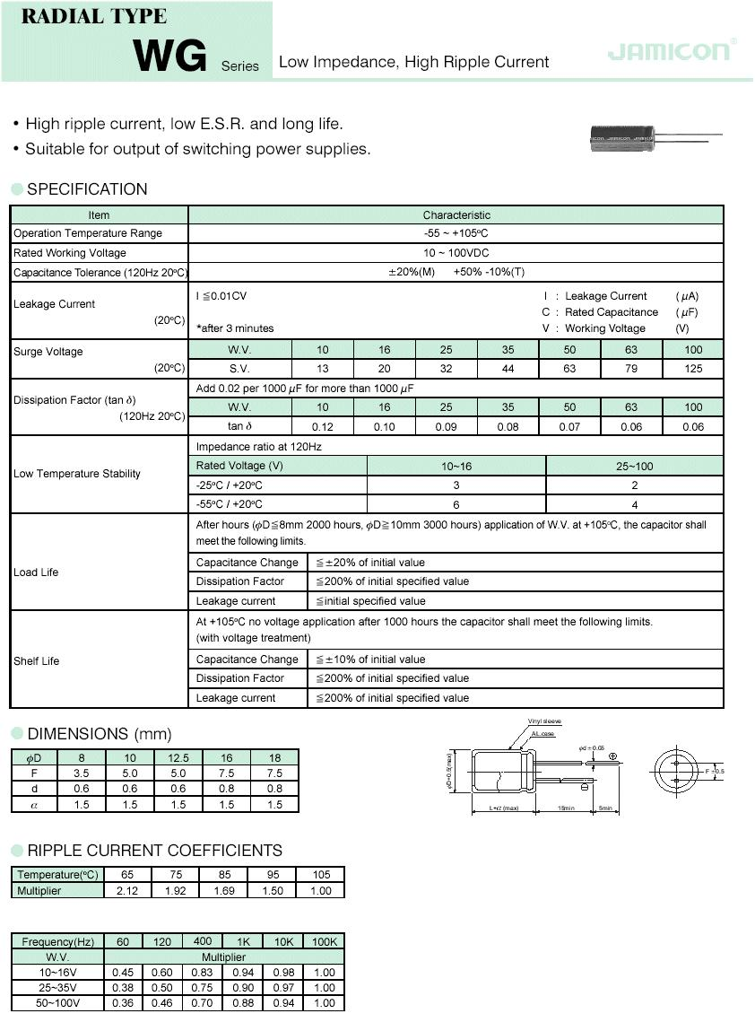 ELKO 220uF 16V 105°C 5x15 Low-ESR 220/16P-105ESR X -