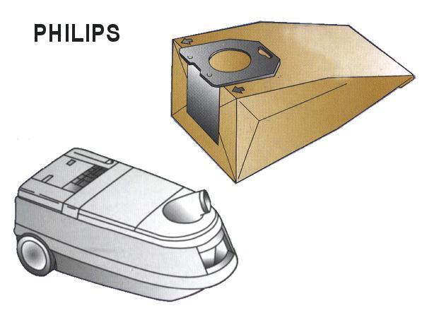 Porszívó papír porzsák 5+1+1db OSLO+ W7-00600