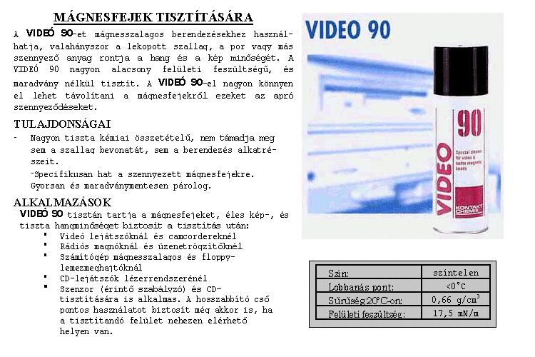 SPRAY: VIDEO 90 200ml 90/200