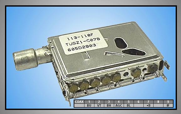 TV TUNER TUGZ1-C07B WITH CABLE TUNER 004/2