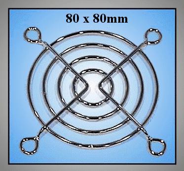 ventilátor burkolat 80x80mm CYP B-080