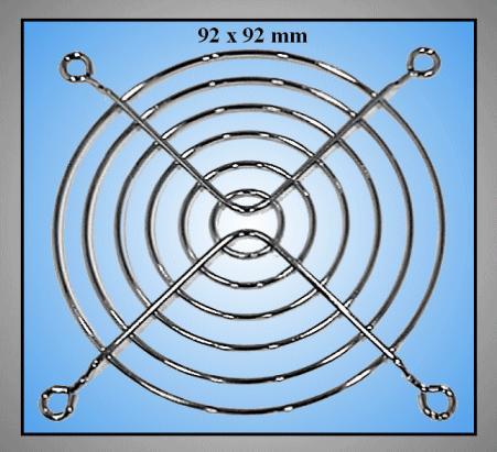 ventilátor burkolat 92x92mm CYP B-092