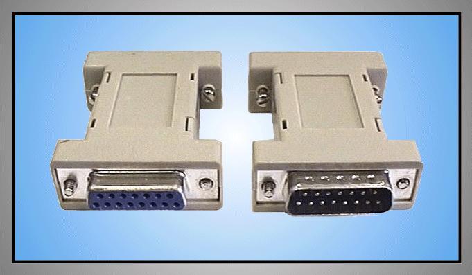 RS232 fordító 15-15p dugó-aljzat GC-15M15F