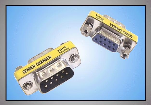 RS232 MINI fordító 9-9p dugó / aljzat GCM-9M9F