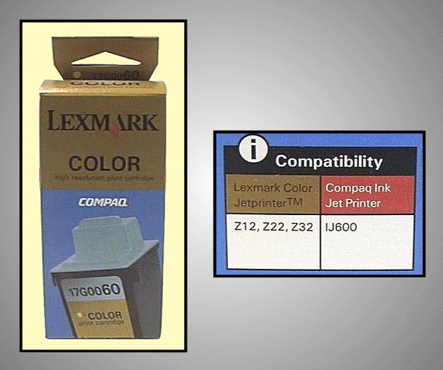 Tintapatron: LEXMARK 17G0060 I000251