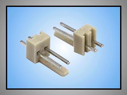 Egysoros csatlakozó aljzat 2p.táv. 2.54mm CSAT-10021/A