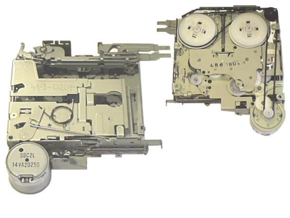 Autós kazettás magnó ,komlett mechanika 419-020F