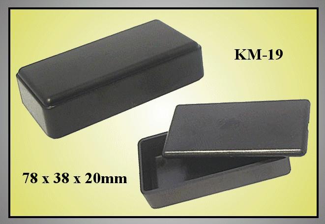 UNIVERSAL BOX 78x38x20mm BOX KM19