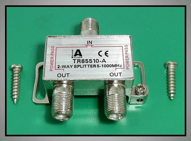Elosztó 2-es 5-1000MHz iránycsatolt FC-702