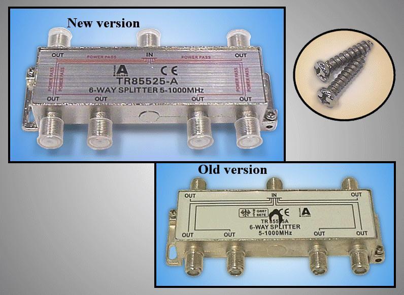 6 xelosztó 5-1000MHz iránycsatolt FC-706