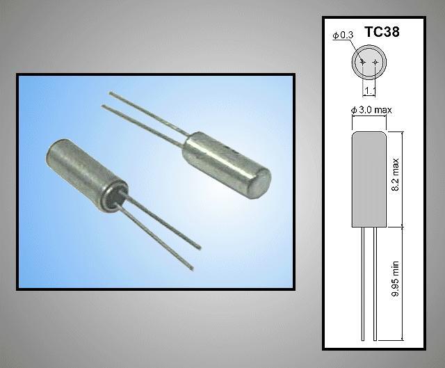 QUARTZ 14.318.180MHz TC38 14.3181 (D4E)