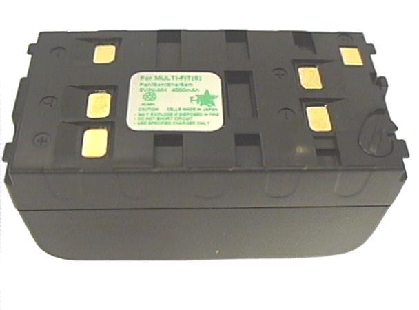 Kamera akkumulátor 6V 4000mAh NiMh CAMC.NP77/UNI/M
