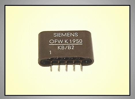 KF hullámszűrő 38.0MHz 5.5/6.5MHz OFWK1950