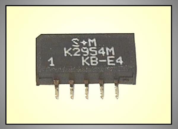 KF hullámszűrő 38.0MHz 5.5/6.5MHz OFWK2954M