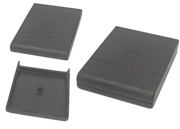 UNIVERSAL BOX 91x69x19mm, fekete BOX KM20B