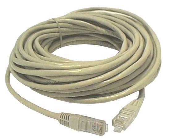 Cat.5E UTP patch kábel 15m 8p. CABLE UTP/15E