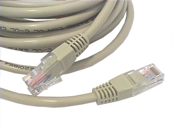 Cat.5E UTP patch kábel 5m 8p. Szürke CABLE UTP/05E