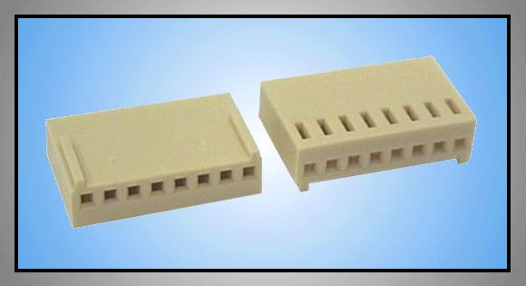 Egysoros csatlakozó ház 8p.táv. 2.54mm CSAT-10081/D
