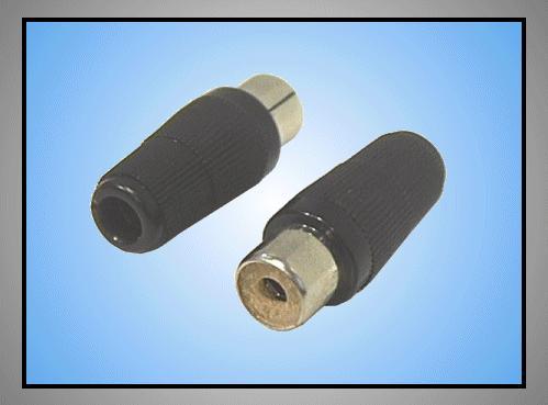 RCA aljzat - fekete normál CSAT-C101