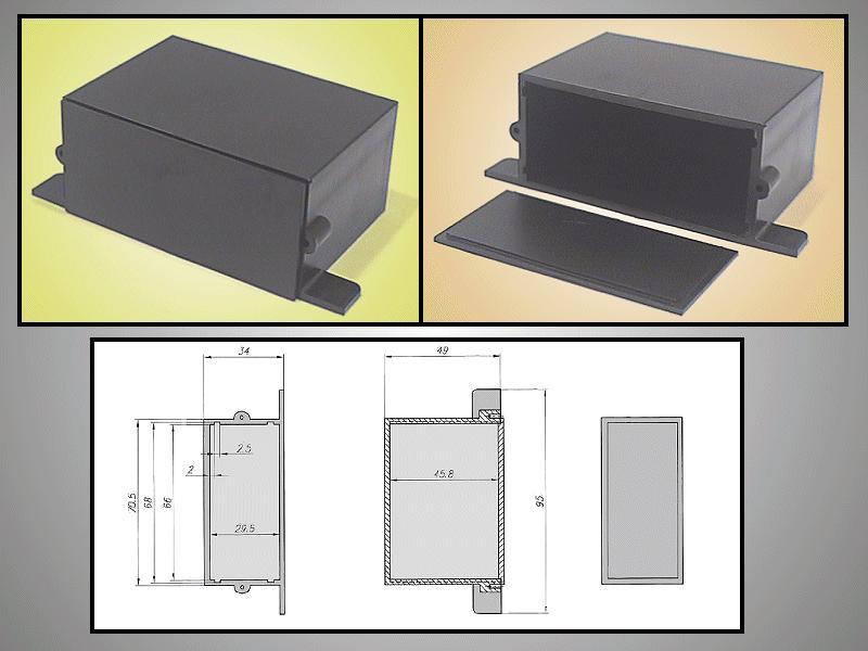UNIVERSAL BOX 70x50x35mm BOX KM34