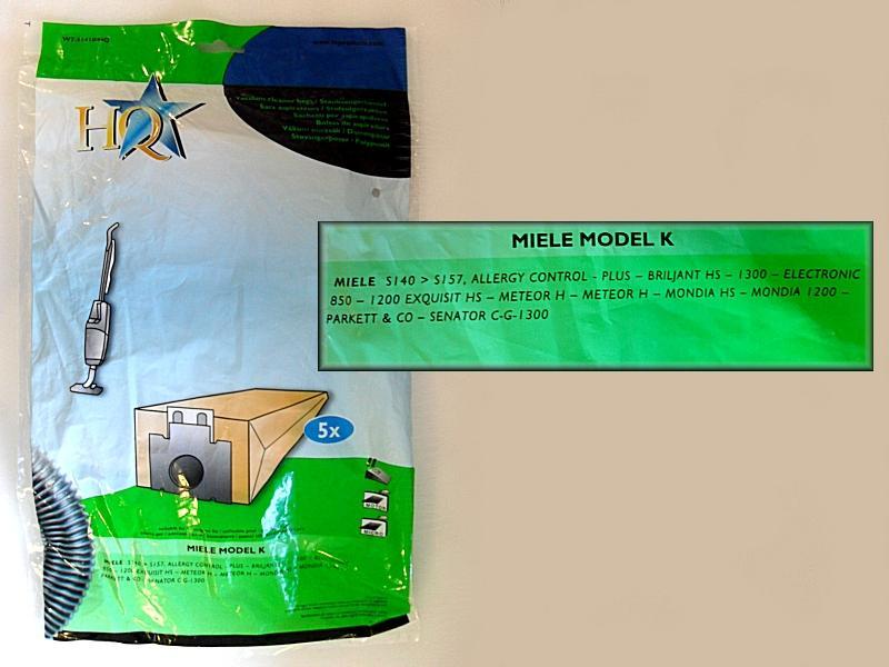 Porszívó papír porzsák K/K 5db+2F W7-01000