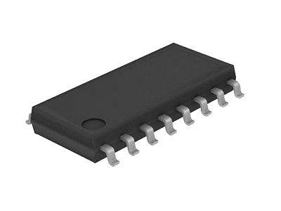 QUAD 2-INP.MULTIPLEXER 16p. SMD 74HC257-SMD -