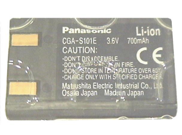 Li-Ion 3.6V 700mAh akkumulátor CGA-S101E ACCU FOT-001