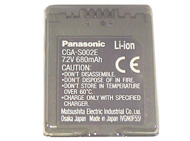 Li-Ion 7.2V 680mAh akkumulátor CGA-S002E ACCU FOT-003