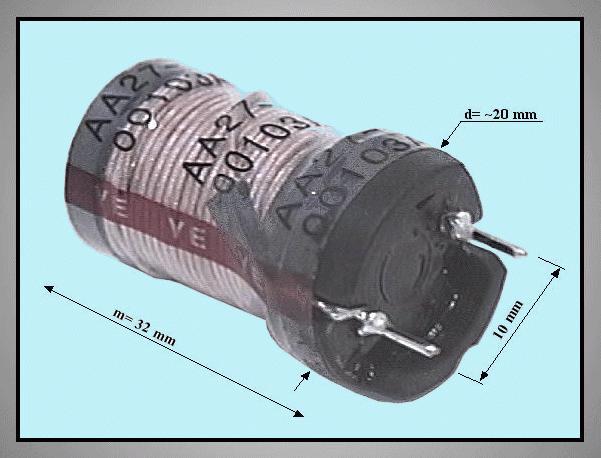 COIL CHOKE 600uH 10% 0.5 COILM60/R