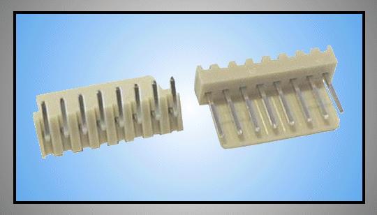Egysoros csatlakozó aljzat 8p.90° táv. 2.54mm CSAT-10081/AK