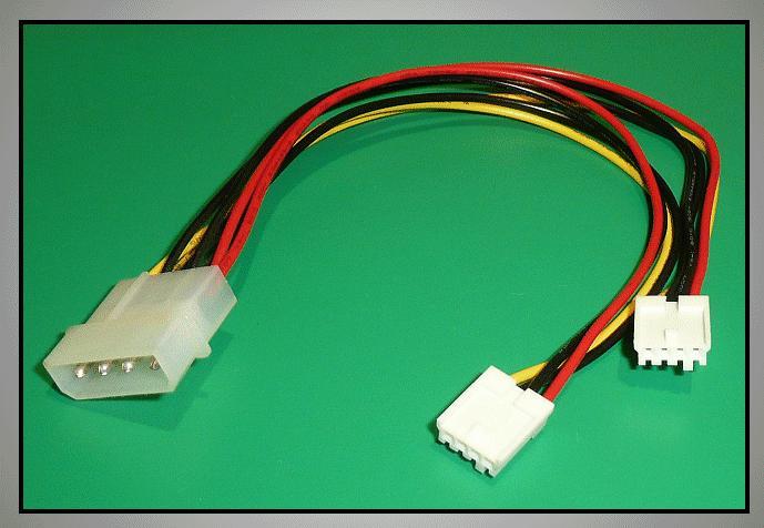 FDD tápkábel 5.25/2x3.5 I11390-2X3.5