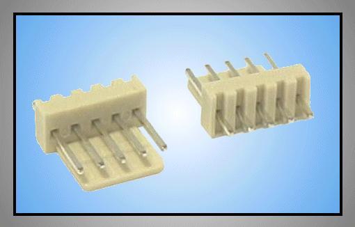 Egysoros csatlakozó aljzat 5p.táv. 2.54mm CSAT-10051/A