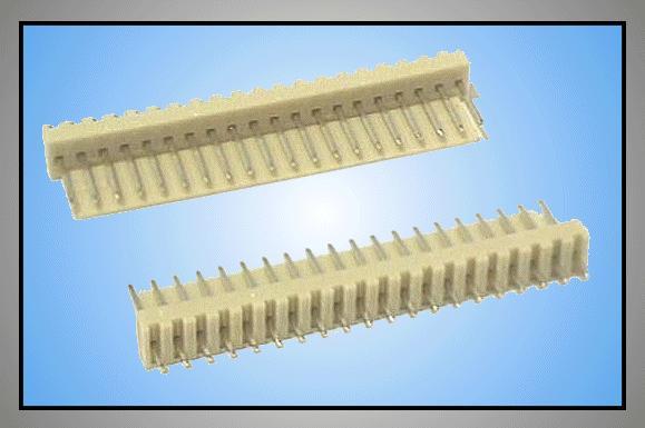 Egysoros csatlakozó aljzat 20p. táv. 2.54mm CSAT-10201/A