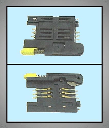 SIM kártya PCB foglalat MOLEX 91228-3001 CARD-SIM002