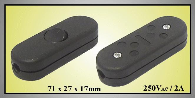 2 pólusú billenő kapcsoló, lengő SW2320/B