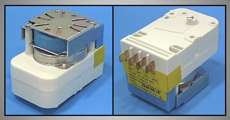 Hűtő jégtelenítő időzítő elektronika W8-DA4510003C